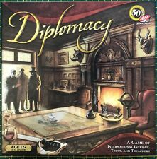 Diplomacy Board Game - Avalon Hill 50th anniversary edition - Complete - VGC