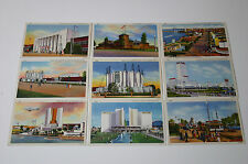 Collection of 38 Mint Condition Chicago World's Fair Postcards from 1933
