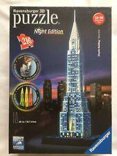 Nueva edición de noche Ravensburger 216 Pieza 3D Rompecabezas-Chrysler Building NYC