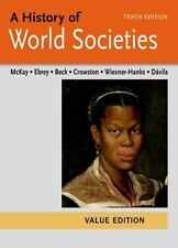 A History of World Societies Value 10th Edition McKay