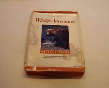 Grizzley Bears by Audubon for Apple II, II Plus, Apple IIe, IIc, Apple IIGS, NEW