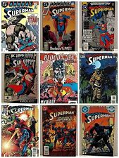 Superman Annuals~DC Comic Lot of 11 1987-96 #1-8 + #9 1983 ~ #12(2) 1986