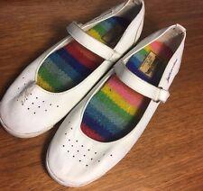 Vintage Jazzercise Shoes Womens Judi Sheppard Missett Rainbow Insole Branded 7.5