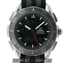 Omega Speedmaster X-33 SkyWalker Titanium on Nato 318.90.45.79.01.001 B+P