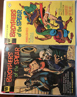 Whitman Comics Brothers Of The Spear Lot Issues 11 And 12 1 VG 1 Fine!!