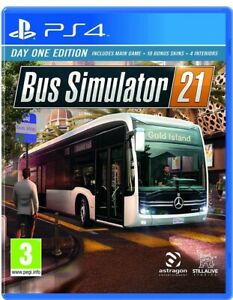 Bus Simulator 21 Day One Edition pS4 sony PlayStation 4 sim includes main game