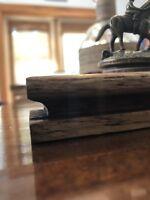 Blanton's Bourbon Cork Display Solid Oak, Blantons, Whiskey