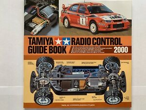 Tamiya Radio Control Guide Book 2000 New, old stock
