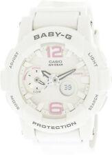 Casio Women's Baby G BGA180BE-7B White Resin Japanese Quartz Sport Watch