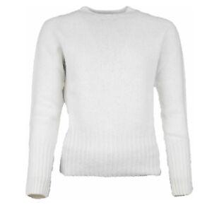 Glenugie round Neck Sweater Light Beige Size M (Previously