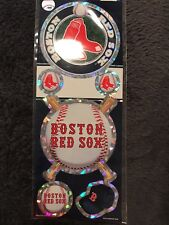Boston Red Sox stickers wincraft prismatic sheet