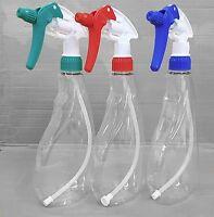 3 x 500ml Trigger INDUSTRY Spray Bottle PACK Multi-colour