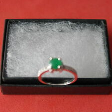 Unbranded Emerald Natural Round Fine Earrings