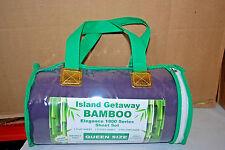 Island Getaway Bamboo Elegance Sheet Set 1800 Series Assorted  S6476