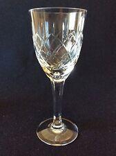 Cristal de Lemberg H 15,4 cm Lorraine verre à vin taillé XX ème C 1930
