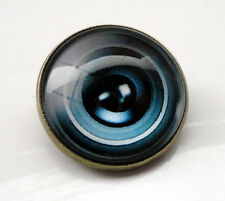 ZP407 Camera Lens Domed Cabochon Pin Badge Brooch Badge Optical