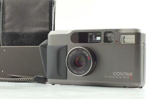 【Apps Mint READ】 Contax T2D T2 D Titan Black Data Back 35mm Film Camera JAPAN