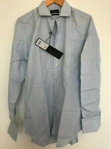 """Paul Smith Gents Formal Tailored Shirt in Stripe Print Size 15"""" -17.5"""" -RRP £170"""