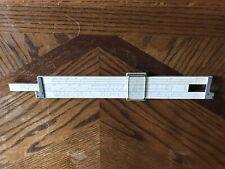 K E N4081-3  Log Log Duplex Decitrig slide rule With Leather Case