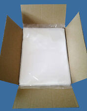 1000 7x9 Clear 1.5 Mil Poly Bags LDPE Layflat Open Top Plastic Baggies Case FDA