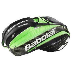 Babolat Pure Strike Wimbledon 15 Racket Bag - Black/Green