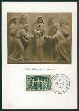France Mk 1949 UPU mundo post Verein maximum tarjeta Carte maximum card mc cm ci25