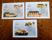 """RARE OMAN 2012  """"OPERA HOUSE INAUGURATION"""" 1ST DAY COVER FDC HARD TO FIND"""