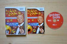 Wii - Golden Balls - (OVP, mit Anleitung)