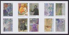 Belgium IMPERFORATE souvenir sheet PAINTINGS SET Cob# B138 - Mint MNG......X2163