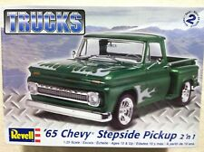 Revell '65 Chevy Stepside Pickup 2 'n 1 1/25 Scale Plastic Model Kit 85-7210