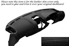BLACK STITCH DASH DASHBOARD LEATHER SKIN COVER FITS MITSUBISHI FTO 1994-2001