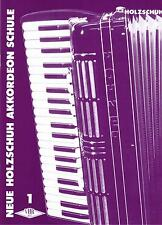 Akkordeon Noten Schule : Neue Holzschuh Akkordeon Schule Band 1 ANFÄNGER VHR 401