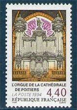 TIMBRE 2890 NEUF XX LUXE - ORGUE DE LA CATHEDRALE DE POITIERS