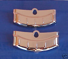 1956 Ford Fairlane Chrome NEW Exhaust Deflectors PAIR FREE SHIPPING