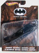 HOT WHEELS * NEW * 2012 BATMAN RETURNS ARMORED BATMOBILE  1:50