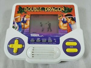 Double Dragon Tiger Electronics Handheld 1988 Vintage Rare Working Tested