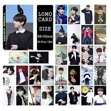 30pcs /set Cute Kpop Bangtan Boys JUNG KOOK Photo Picture Poster Lomo Cards