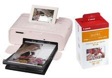 Canon Selphy CP1300 Pink / Rosa inkl. RP-108 WLAN Drucker CP-1300