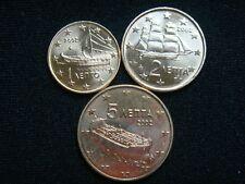 GRECIA  2002 ,1CT, 2CT Y 5CT.