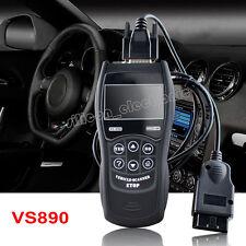 New VS890 OBD2 OBDII Code Reader Auto Scanner Diagnostic Tool Multi-language