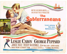 Robert Thom, Jack Kerouac / Beat Generation Lobby Card The Subterraneans 1960