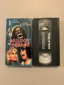 Trilogy of Terror (Anchor Bay VHS Tape) Rare HTF 70s Dan Curtis Horror
