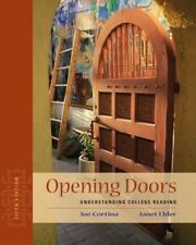 Opening Doors : Understanding College Reading by Janet Elder and Joe Cortina (20