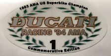 DUCATI 748 916 996 AMA 1994 COMMEMORATIVE EDITION SCREEN RESTORATION DECAL