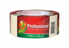 Duck  Professional  1.88in W x 60 yd. L Beige  Medium Strength  Painter's Tape