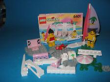 Lego Paradisa 6401 Seaside Cabana mit Surfbrett und Schnellboot, 2 Figuren OBA