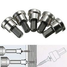 10X 25mm Trockenbau Schraubendreher Bit PH2 Tiefenanschlag Stahl Gipskarton Kit