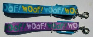 WOOF! 5' Dog Leash In Your Choice Of 2 Colors