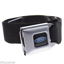 Ford Blue Oval Logo Official Licensed Seatbelt Seat Belt Style Auto Buckle Down