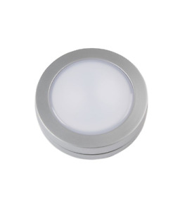 Silver Silver effect Battery-powered LED Under cabinet light IP20